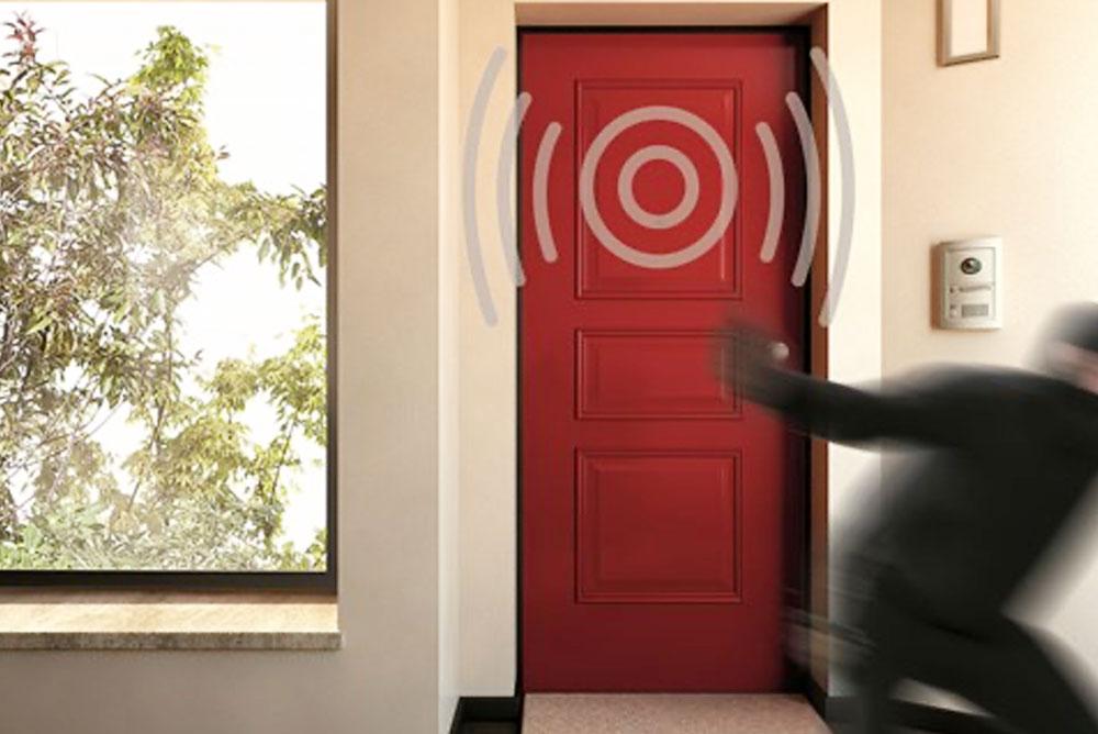 Gardesa - Porta con allarme sicurezza