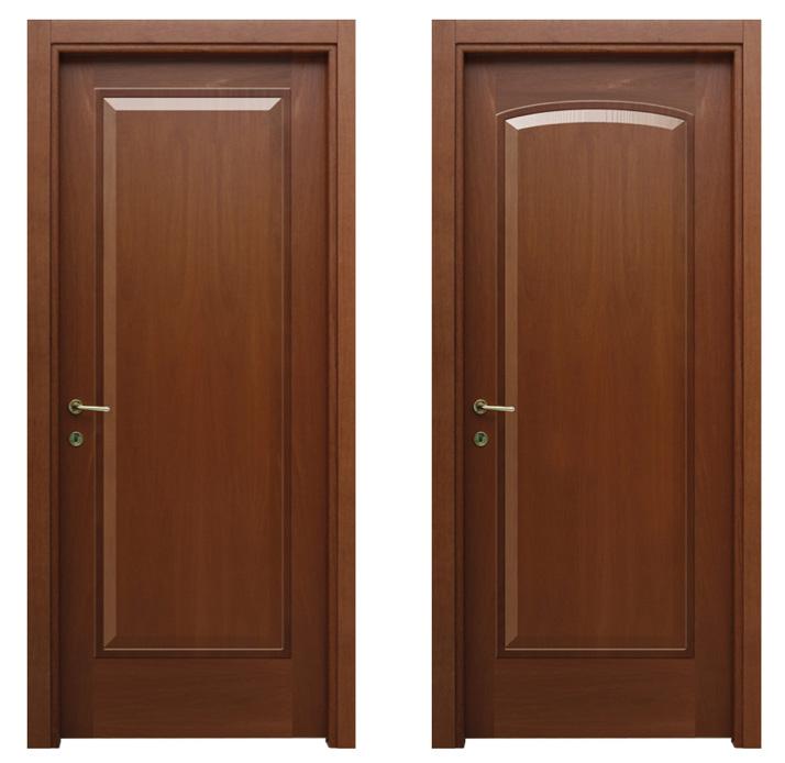 Porte in legno massello e bugnate